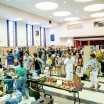 The exhibitor hall at Twin Cities Veg Fest 2012