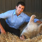 Nick Cooney, Compassionate Communities Manager for Farm Sanctuary